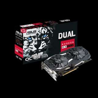 Asus RX580 8GB  ready in stock x13pcs ( bulk price)