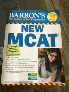 Barrin's New MCAT
