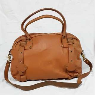 BUFF GENUINE LEATHER BAG