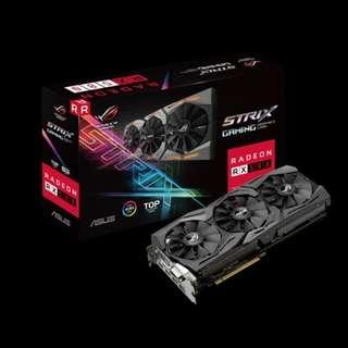 Asus Strix Rog RX580 8GB ready in stock  x 21pcs (bulk price)