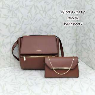 Givenchy Pandora Box Medium Brown 2 in 1
