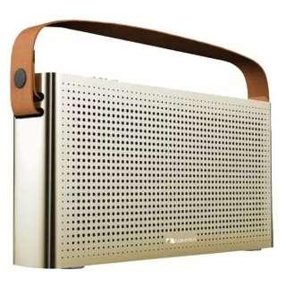 Nakamichi Retro Gold Bluetooth Speakers. BNIB.