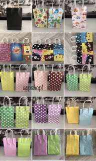 Goodies bag - colorful paper bag for party