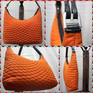 Bally Quilted Shoulder Bag