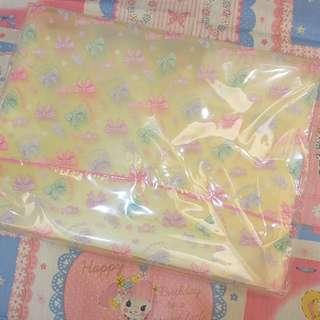 日本swimmer黃色蝴蝶結風琴file folder