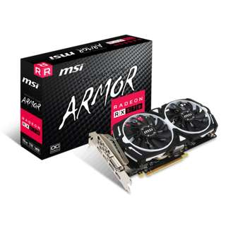 MSI Armour RX570 8GB ready in stock x 5pcs (bulk price)