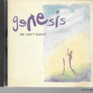 MY PRELOVED CD -GENESIS - WE CAN'T DANCE // /FREE DELIVERY (F7L))