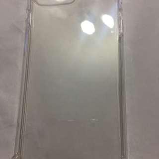 iPhone 8 plus 5.5寸-透明厚膠防爆手機套+ 送1張面網化玻璃膜