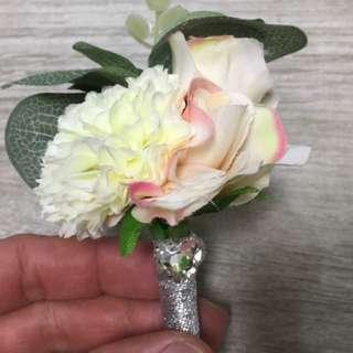 新郎新娘家屬襟花