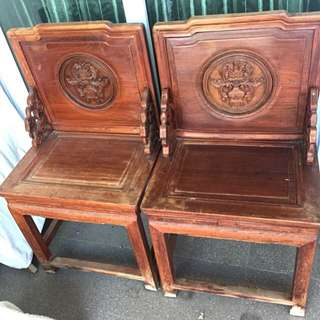 Antique chairs (both for $330)