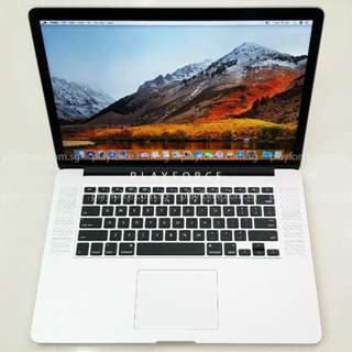 """Pro2012 15"""" 500GB - Apple Macbook Pro 2012 15"""" Retina i7 8GB 500GB"""