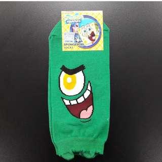 Cute Korean socks - Spongebob series - Plankton