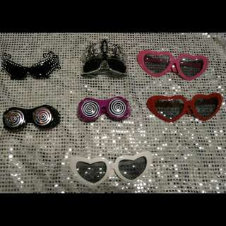 All For $20 SALE! Glasses / Shades Props (Photobooth)