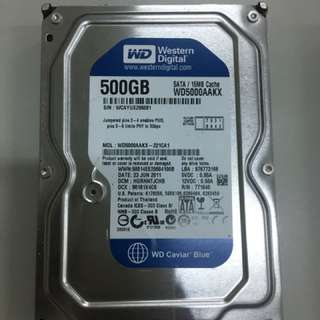 500gb western digital caviar blue