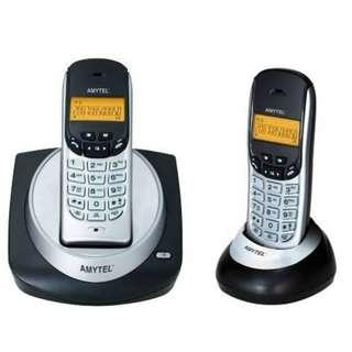 Amytel DECT 無線子母數碼電話 (雙機) [AT 3300] (有保用)