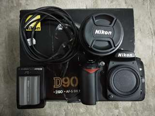 Nikon D90 with 28-200mm 3.5-5.6