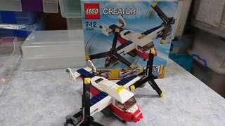 Lego#31020三合一飛機三款