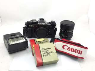 Canon AE-1 Program Kit Set (Mint)