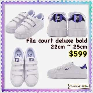Fila Court Deluxe Bold shiny fs1sia1203x