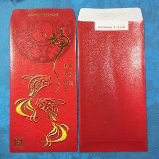 8 pcs Singapore Pools Red Packets - Gold fish