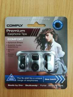 COMPLY Premium Earphone Tips Ts-400 Medium 3 Pairs 專業耳機 耳綿