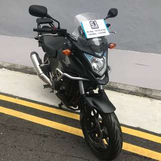Used 2014 Honda CB400X For Sale!! COE Expiry Date: 13 March 2024