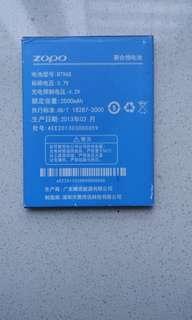 Zopo new battery BT96S 2500MAH