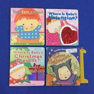 Lot of 4 Karen Katz Books