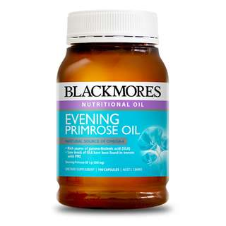 Blackmores Evening Primrose Oil 1000 月見草油1000 (190粒) (舒緩經前不適)
