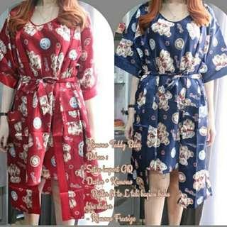 kimono set bear