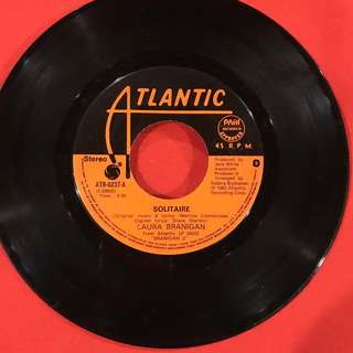 Solitaire / I'm Not The Only One - Laura Branigan vintage 45 rpm