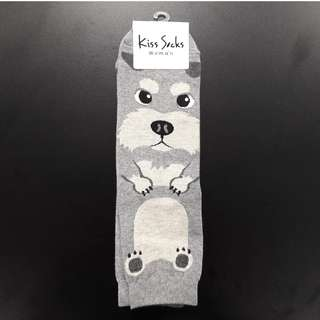 Cute Korean socks - Animal - Schnauzer