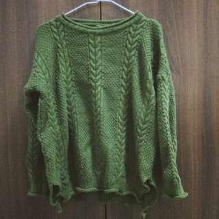 🚚 墨綠色毛衣