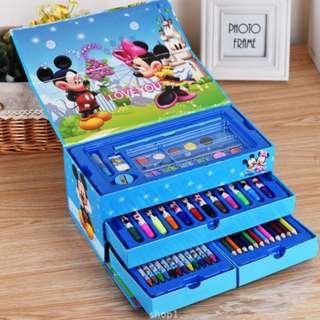 Crayon Anak Set Art set isi 54 pcs