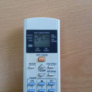 Remote AC Panasonic