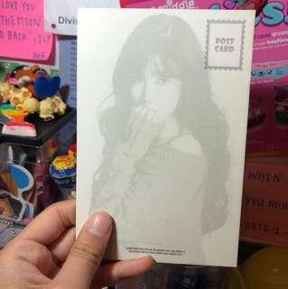 Girls generation-TIFFANY post card