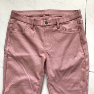 Uniqlo Pink Jeggings Instock