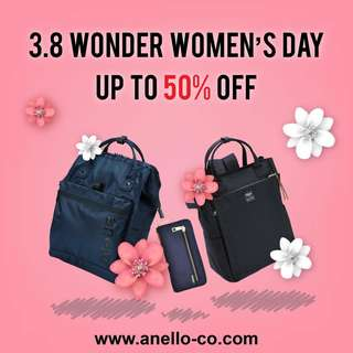 50% Off ! International Women's Day (1)