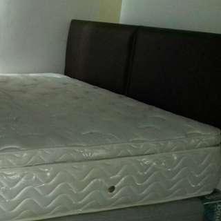1 set spring bed 160 x 200