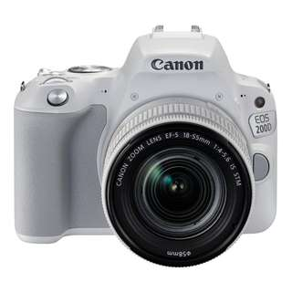 EOS 200D (EFS 18-55 IS STM) White