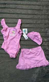 Swimwear/Swimsuit Set for Kids 👙 Imported with Tags Stretchable for kids