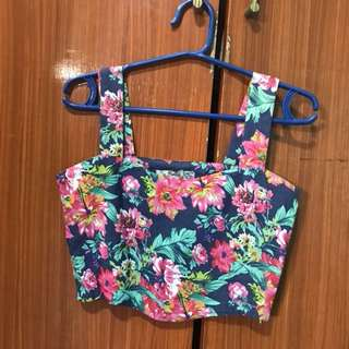 Betty Floral Midriff