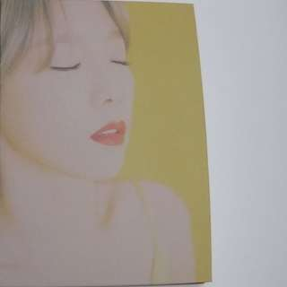 ON HAND SEALED TAEYEON - FINE ALBUM