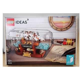 Lego 21313 Ship in a Bottle IDEAS - Brand New MISB