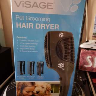 Pet hair dryer brand new