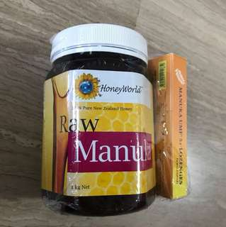 Manuka Honey & lozenges