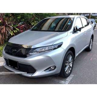 Toyota Harrier Premium Advance 2.0A (Panoramic Roof/ Pre-Collision -System/ Intelligence-Clearance-Sonar) @ $139,800