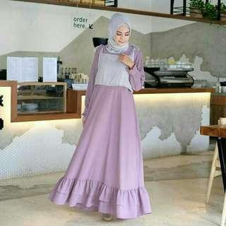 Nasya Dress Purple