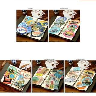 Traveler Notebook Series Sticker Set