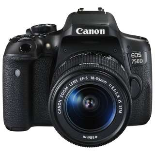 EOS 750D (EFS 18-55 IS STM)